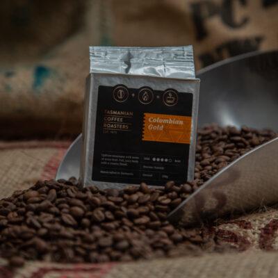 tasmanian coffee roasters colombian gold