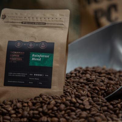 tasmanian coffee roasters rainforest blend