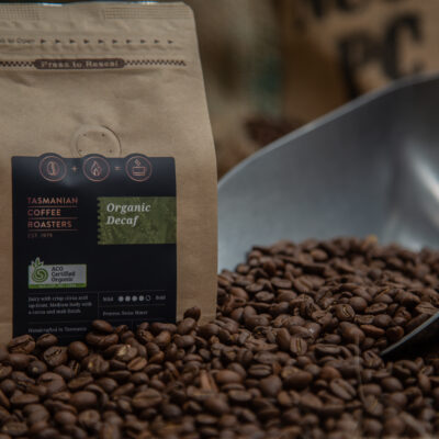 tasmanian coffee roasters organic decaf