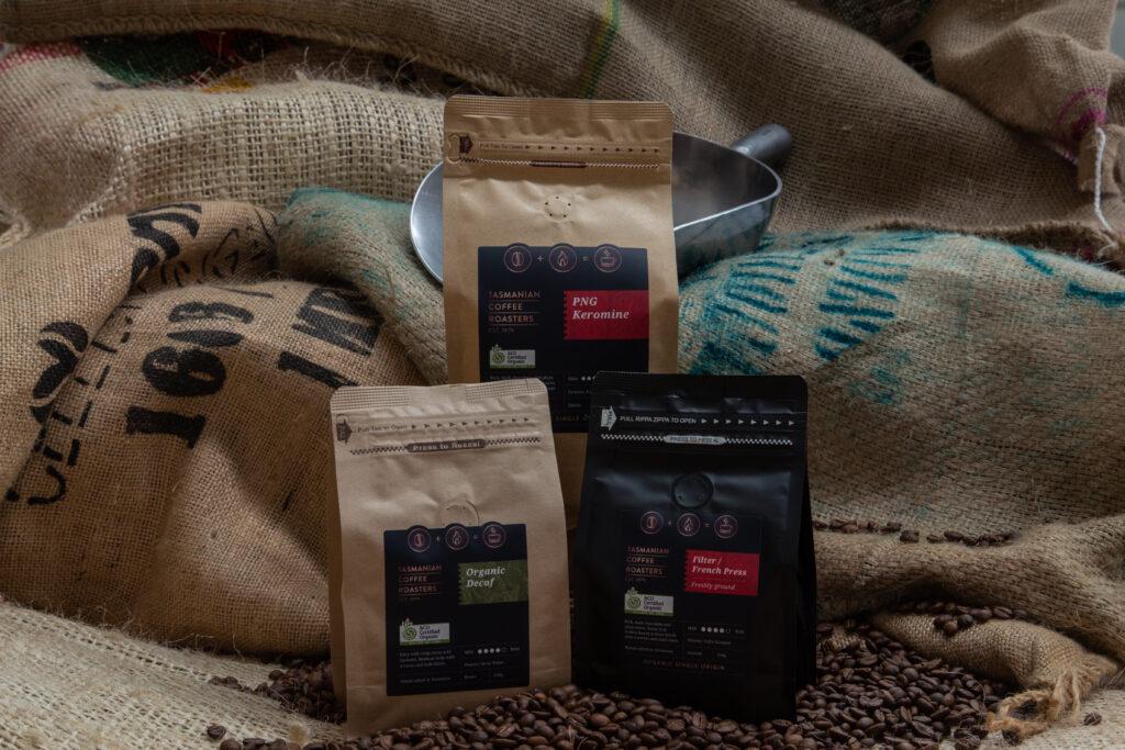 tasmanian coffee roasters products